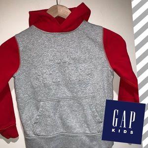 ♥️Gap Kids logo pullover hoodie sweatshirt 8